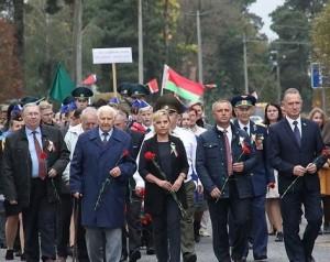 75 лет со дня освобождения Комарина  от немецко-фашистских захватчиков